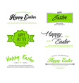 Easter designs vector image vector image
