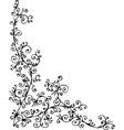 baroque pattern vector image vector image
