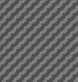 Monochrome pattern with gray dotted diagonal lines vector image