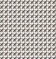 Beige fabric pattern vector image