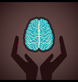 secure your brain concept vector image