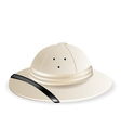 Pith helmet vector image vector image