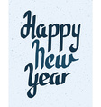 Happy New year lettering vector image
