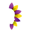Alternative medicine or therapy logo vector image