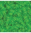 Palm leaves Seamless background Floral vector image vector image