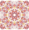 Mandala round seamless pattern vector image