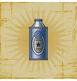 Retro Lemonade Can vector image vector image