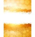 christmas sparkle card vector image