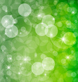 Green Abstract Spring Defocused Blurred Background vector image