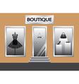 boutique vector image