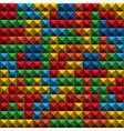Tetris Tiles background vector image