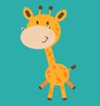 Cute Baby Giraffe vector image
