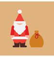 Santas Bag vector image