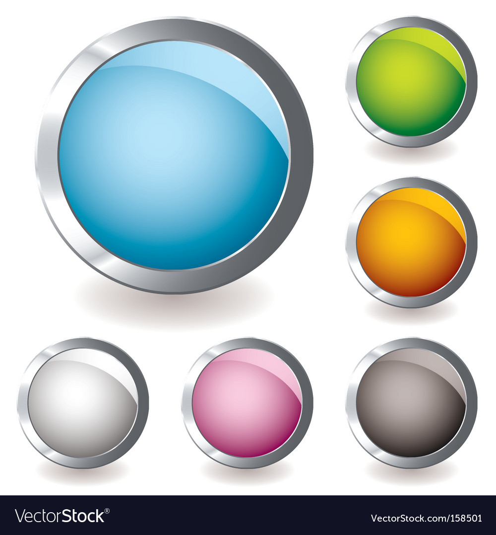 Web icon variation round vector