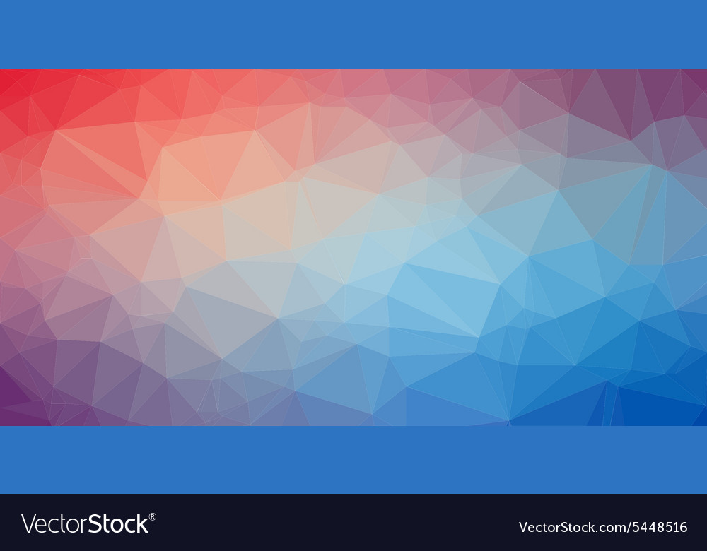 Low poly trangular trendy art background vector