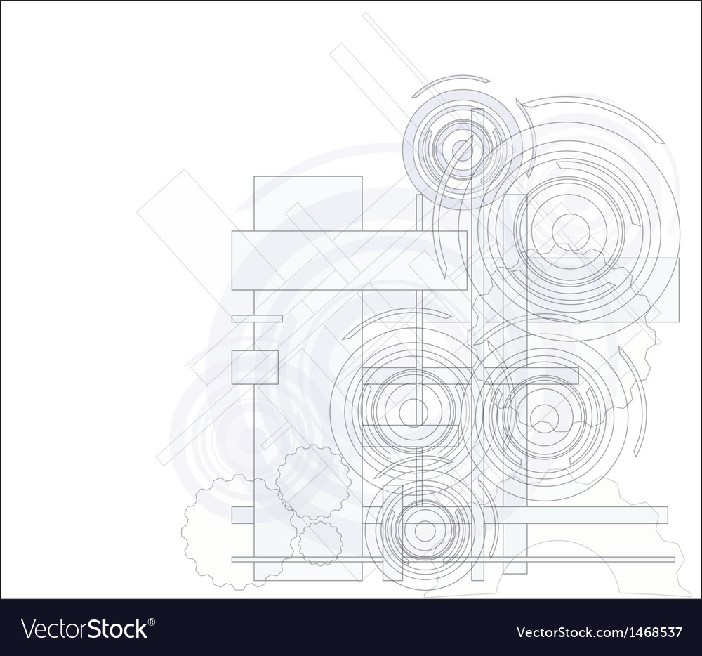 Abstract technology background vector