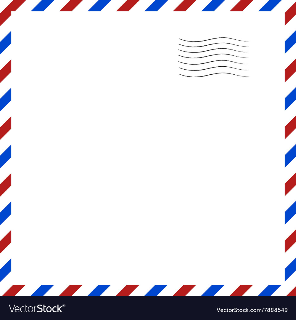 Postal background vector
