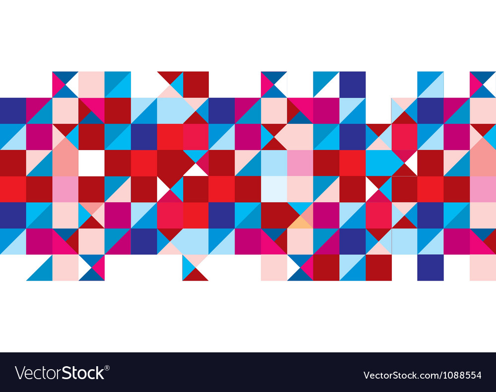 Tricolour pattern background vector