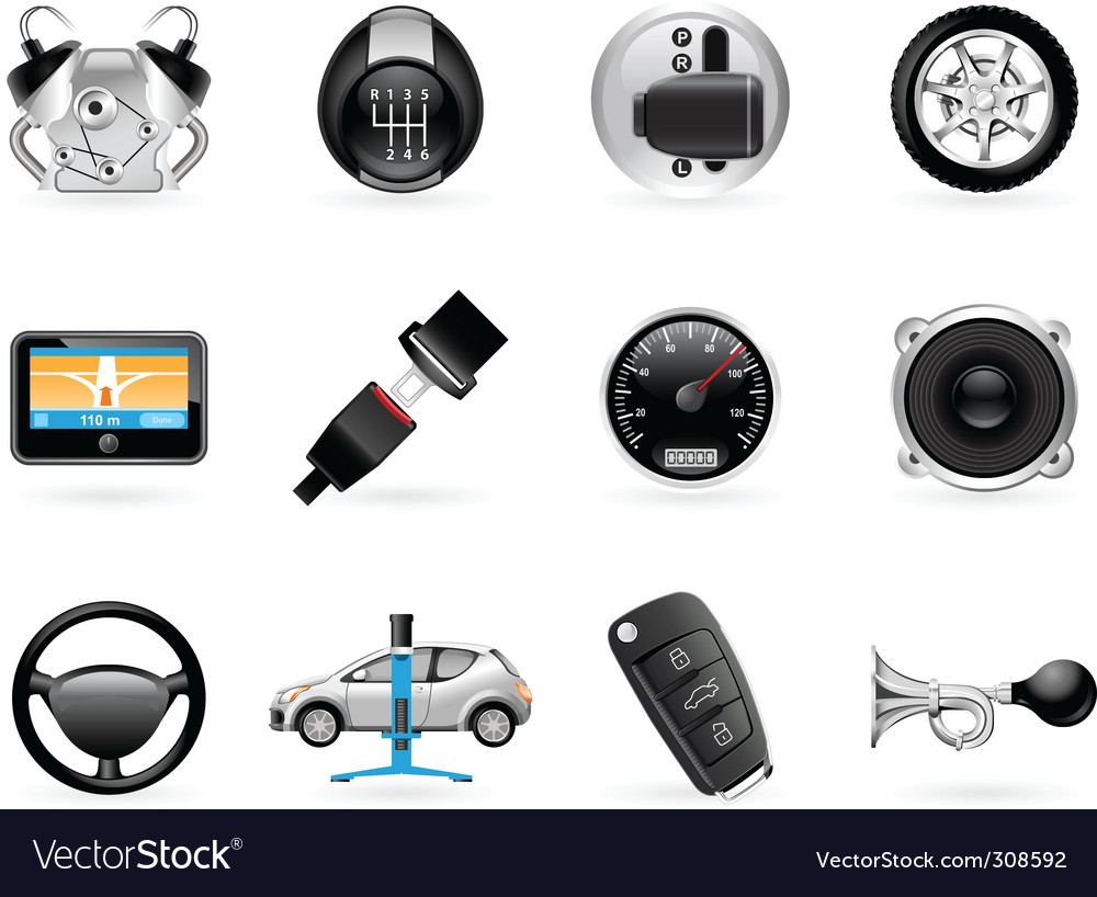 Car options vector