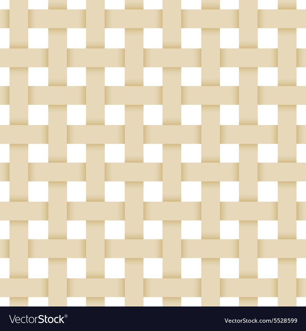 Beige paper lattice abstract seamless monochrome vector