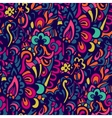 Abstract colorful seamless doodle background vector image