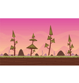 Cartoon Game Background vector image