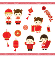 Chinese New Year cartoon vector image