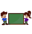 childrens and board vector image