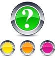 help round button vector image