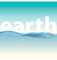Clean water for life and world vector image