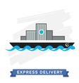 Express Delivery Symbols Shipping vector image