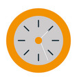 wall clock object vector image