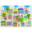 cute homes vector image