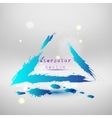 Blue colored wave design Abstract background vector image