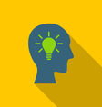 icon process of generating ideas to solve problems vector image