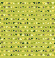 seamless color triangles pattern vector image