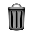 Garbage icon sign vector image