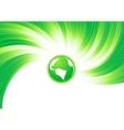vector green concept vector image
