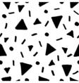 Hand Drawn Retro Seamless Pattern vector image