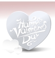 Valentine s day card vector image