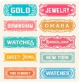 17 Labels and banners vector image