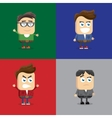 a variety emotions vector image