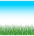 Grass Landscape Nature Background With vector image