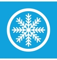 Winter sign icon vector image