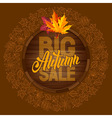 Autumn sale 09 01 vector image