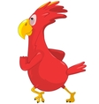 Running Funny Parrot vector image vector image