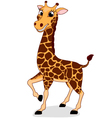 Happy Giraffe vector image