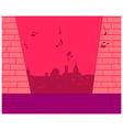 Music Cityscape vector image