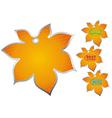 icon chestnut sale vector image vector image