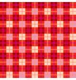 checkered plaid pattern vector image
